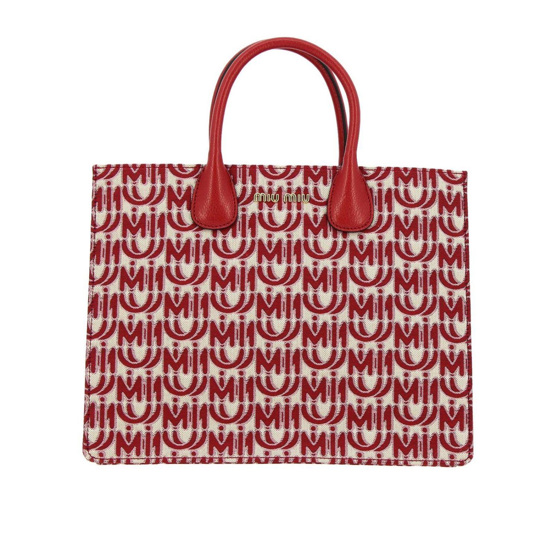 Shoulder bag women Miu Miu red 1