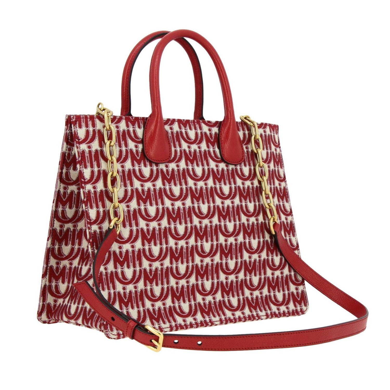 Shoulder bag women Miu Miu red 3