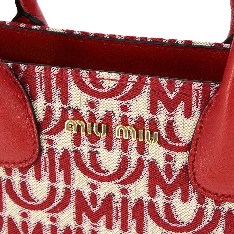 Shoulder bag women Miu Miu red 4