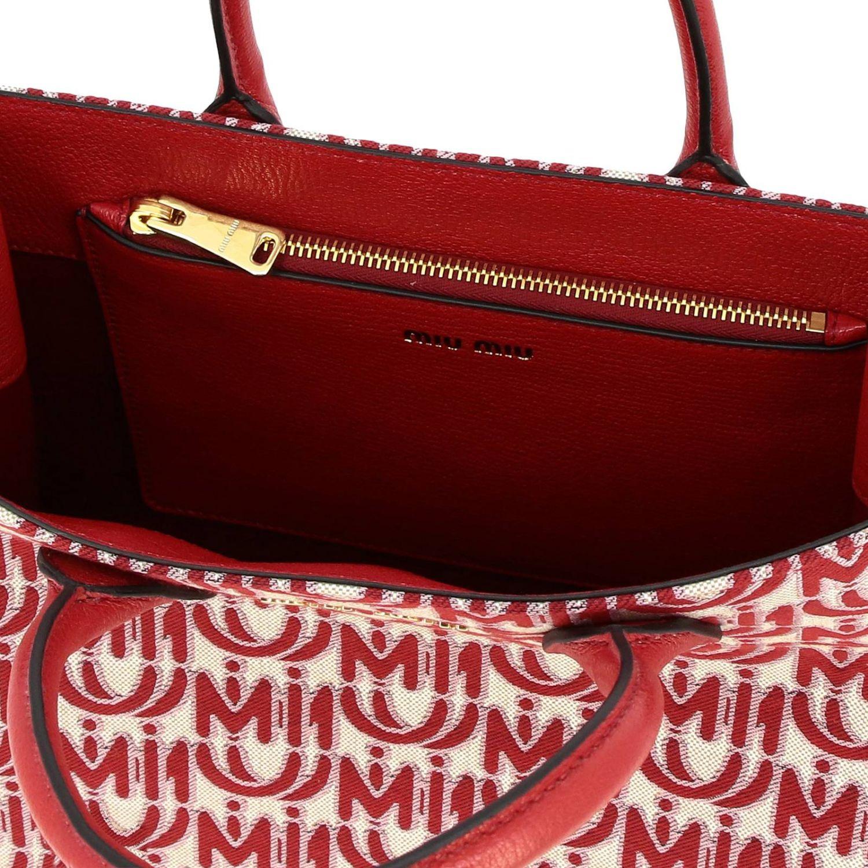 Shoulder bag women Miu Miu red 5