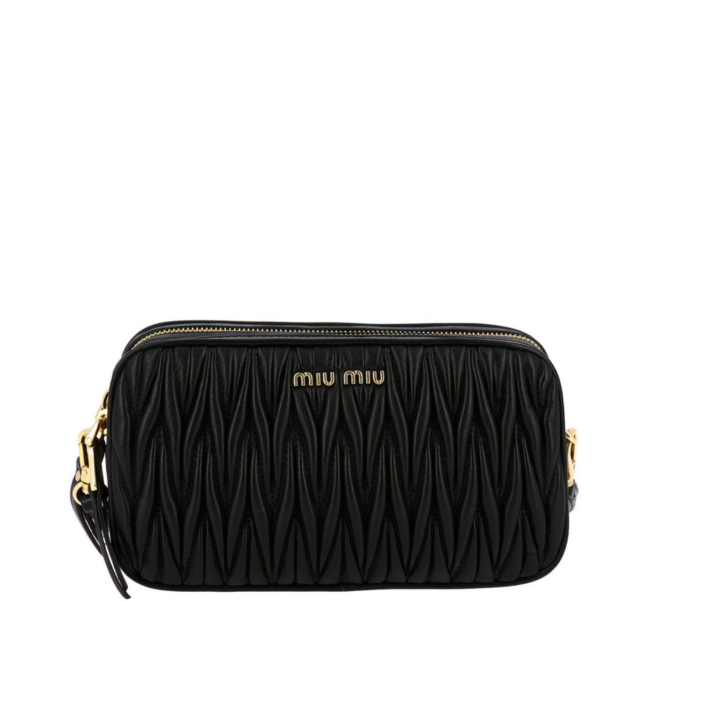 Mini bag women Miu Miu black 1