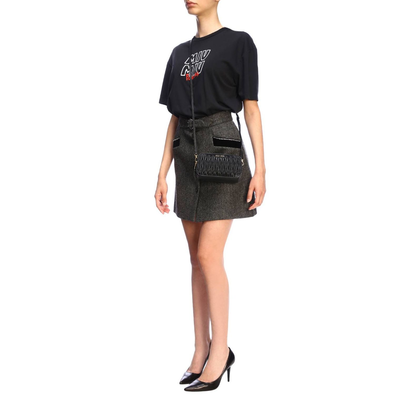 Mini bag women Miu Miu black 2