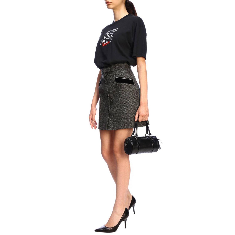 Mini bag Miu Miu: Shoulder bag women Miu Miu black 2