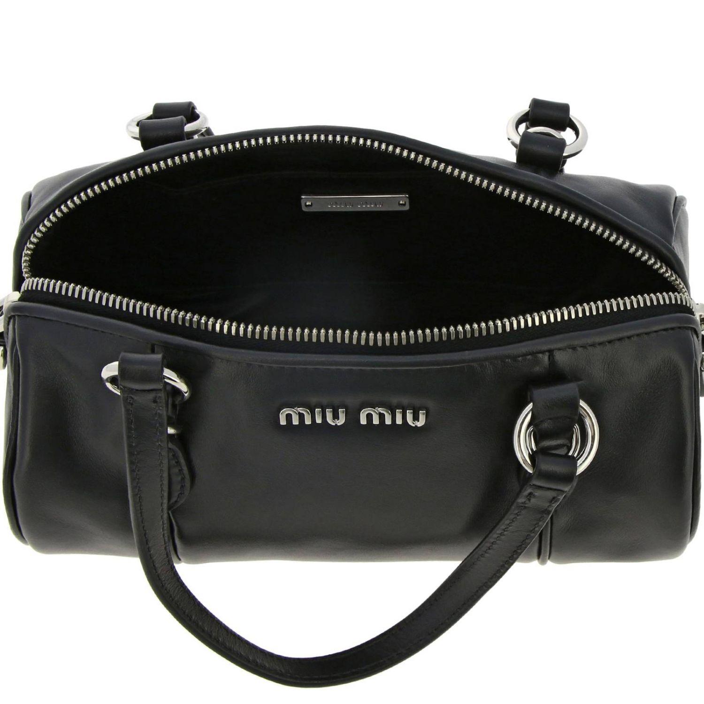 Mini bag Miu Miu: Shoulder bag women Miu Miu black 5