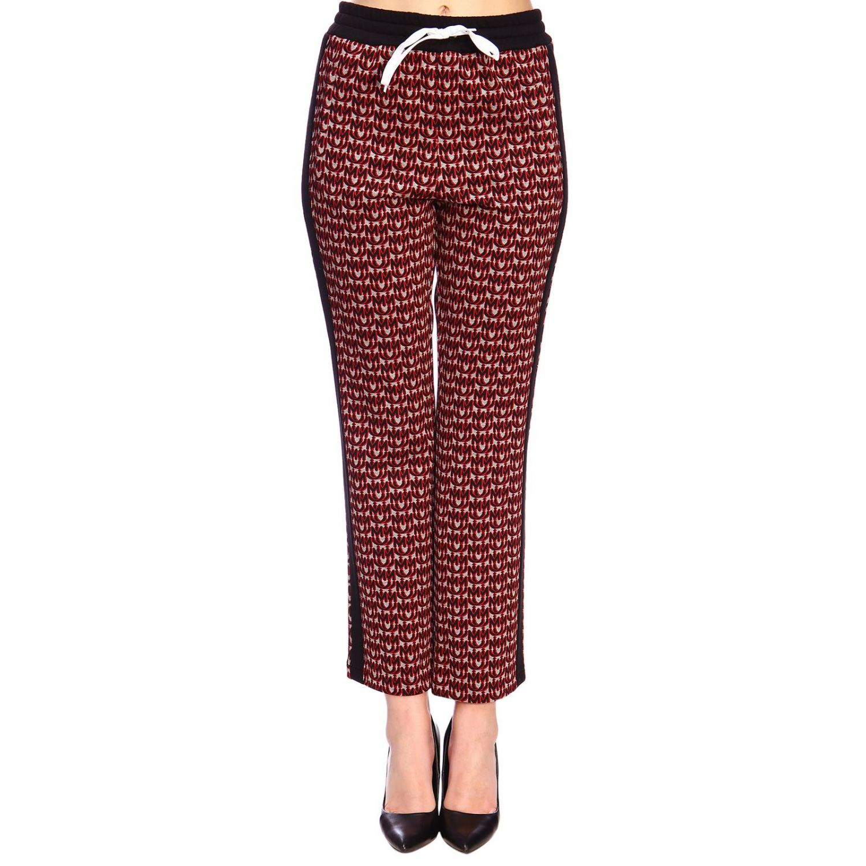 Trousers women Miu Miu red 1