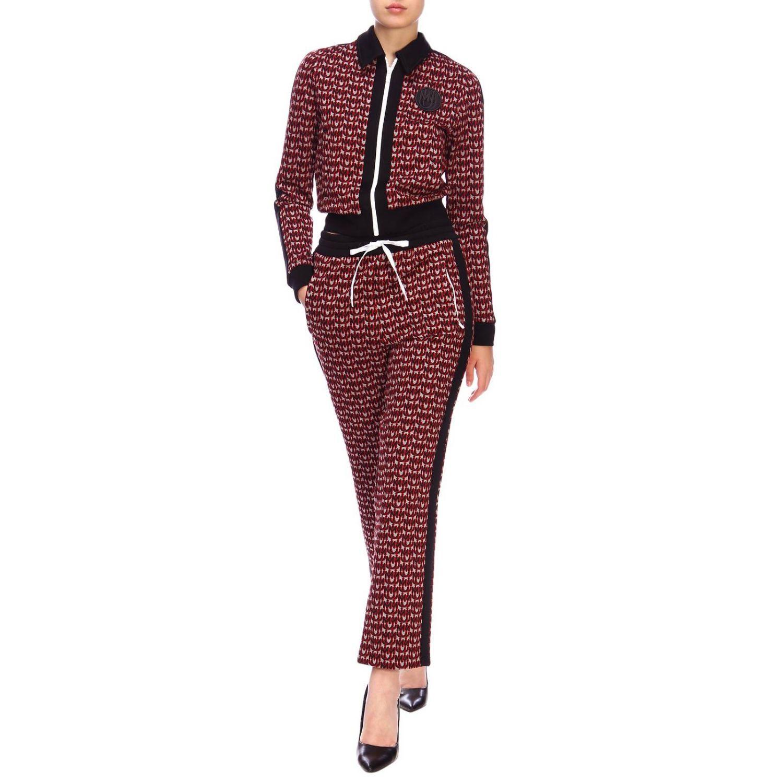 Trousers women Miu Miu red 2