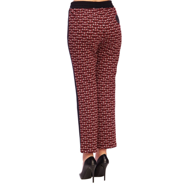 Trousers women Miu Miu red 3