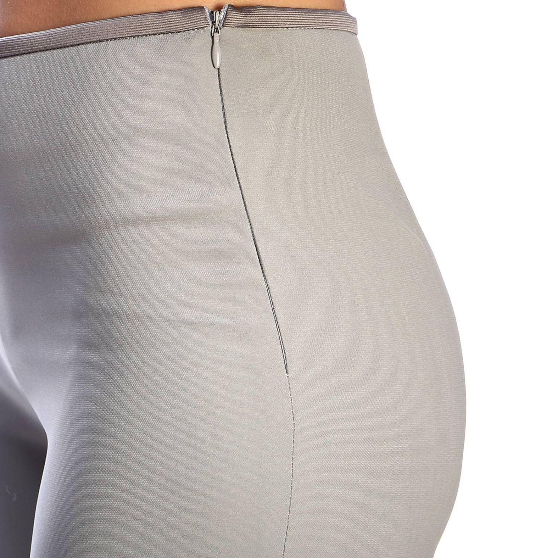 Giorgio Armani Classic trousers in wide crepe grey 4
