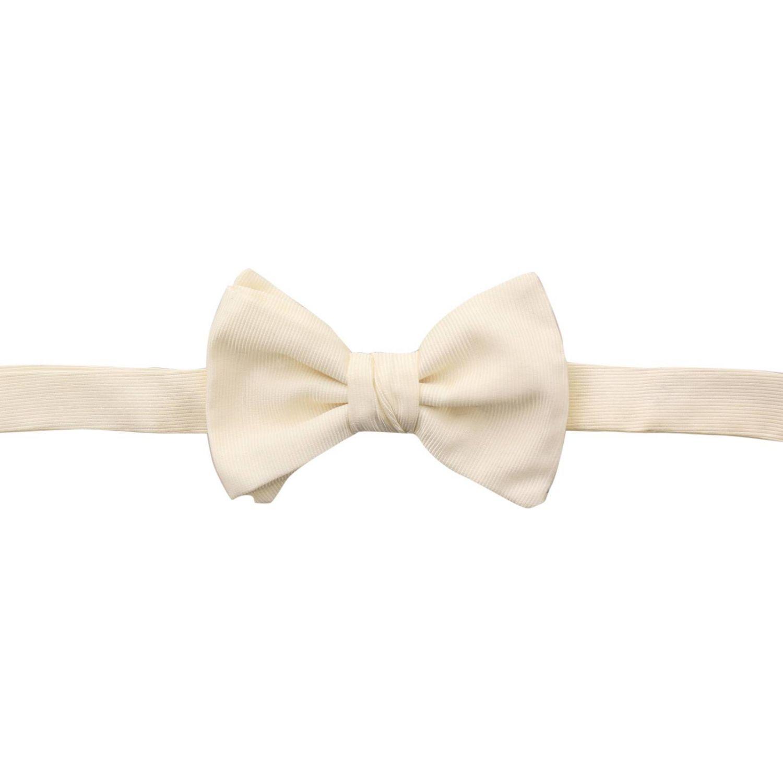 Bow tie Giorgio Armani: Bow tie men Giorgio Armani yellow cream 1