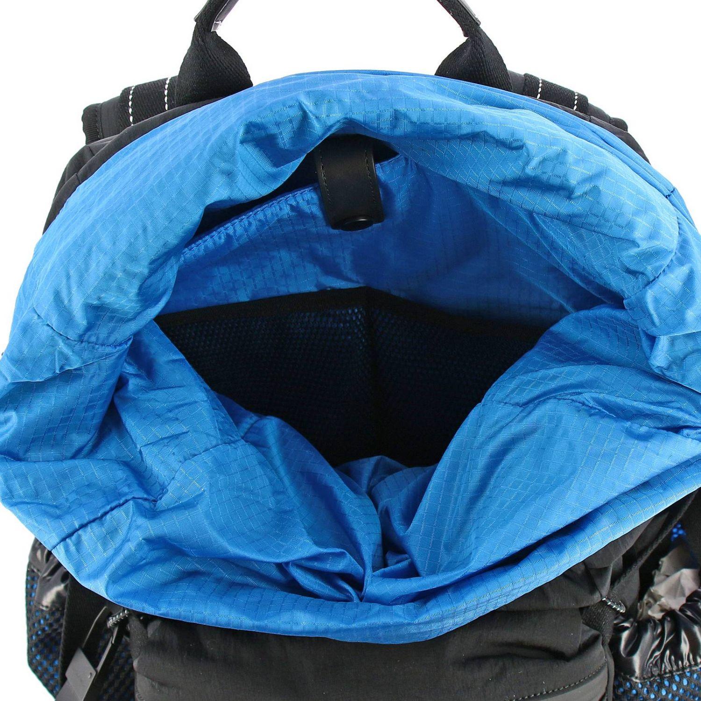 Bottega Veneta backpack in nylon and mesh black 6