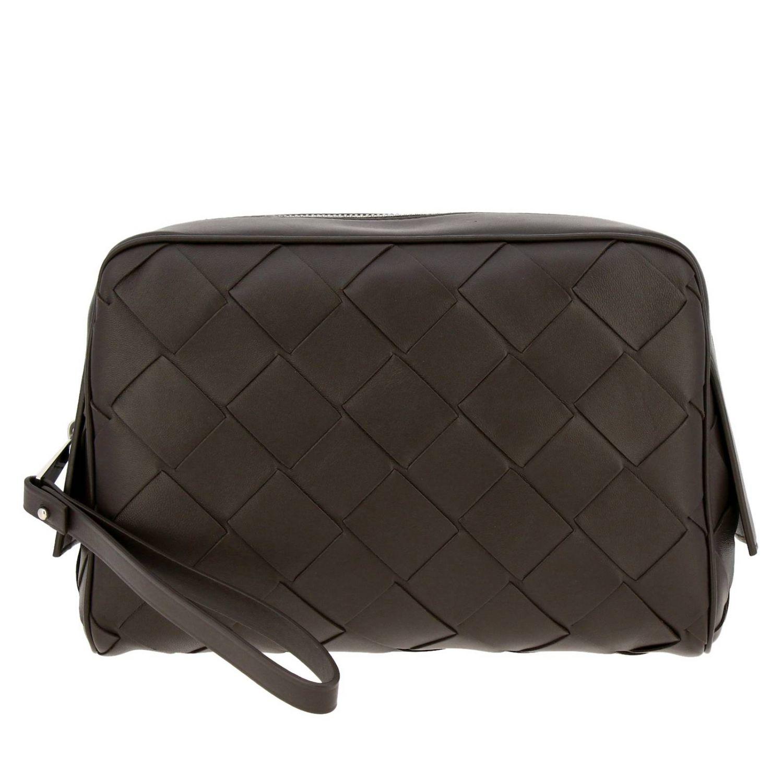 Cosmetic Case Bottega Veneta: Bags men Bottega Veneta dark 1