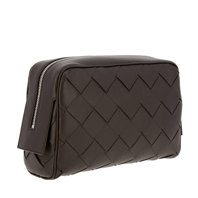 Cosmetic Case Bottega Veneta: Bags men Bottega Veneta dark 3