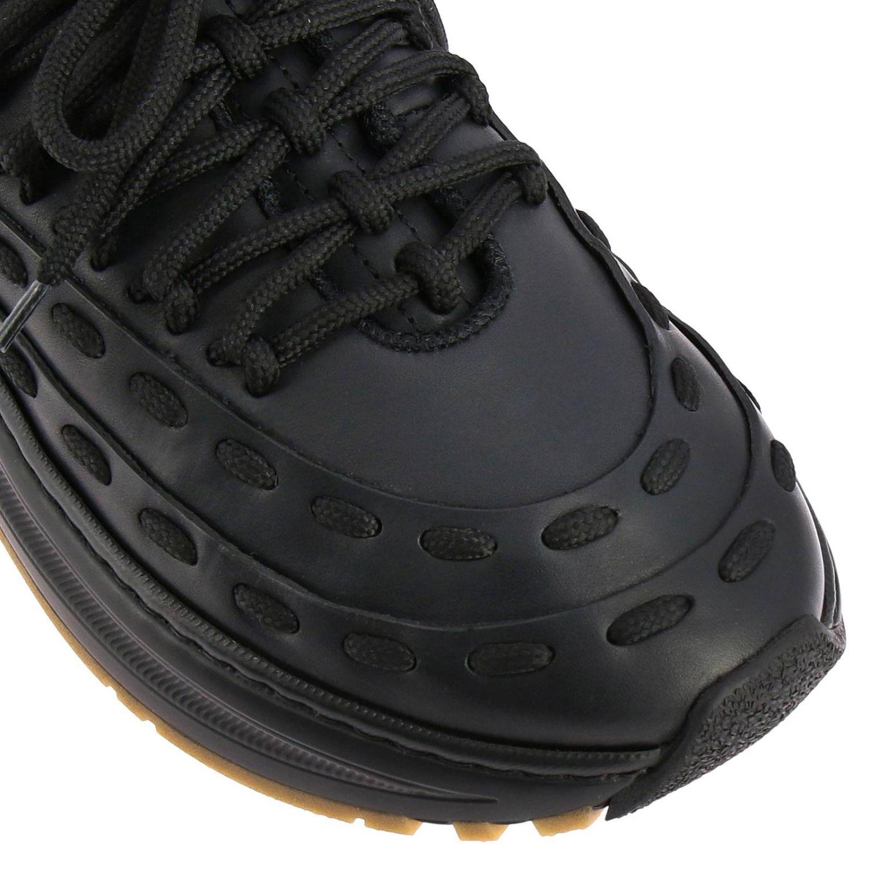 Bottega Veneta sneakers in leather with criss cross black 3