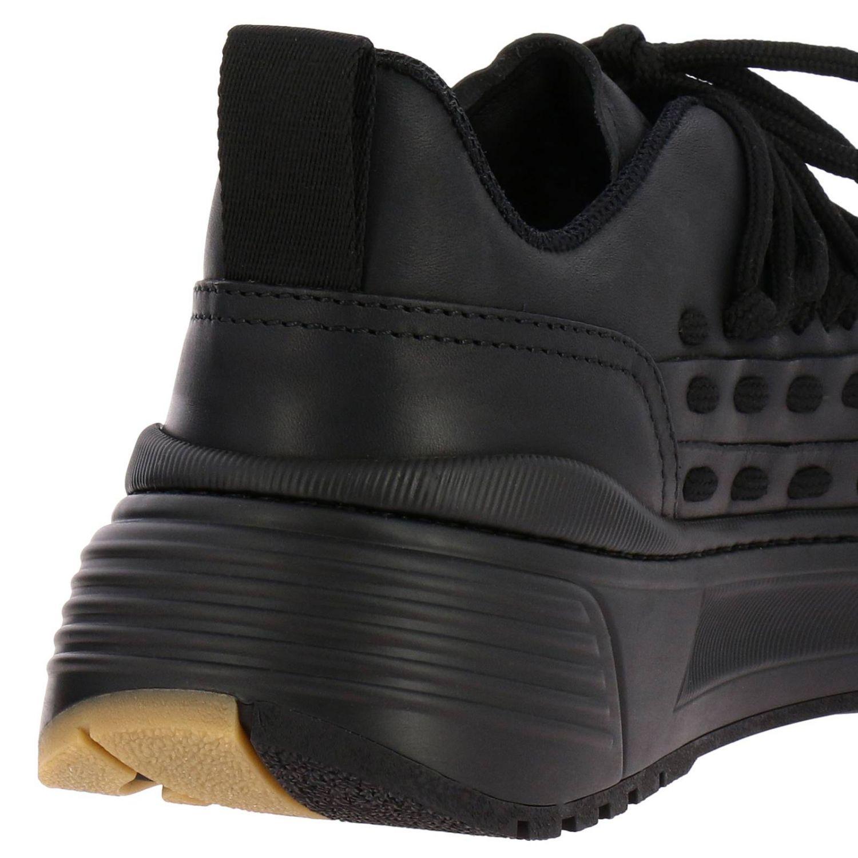 Bottega Veneta sneakers in leather with criss cross black 4
