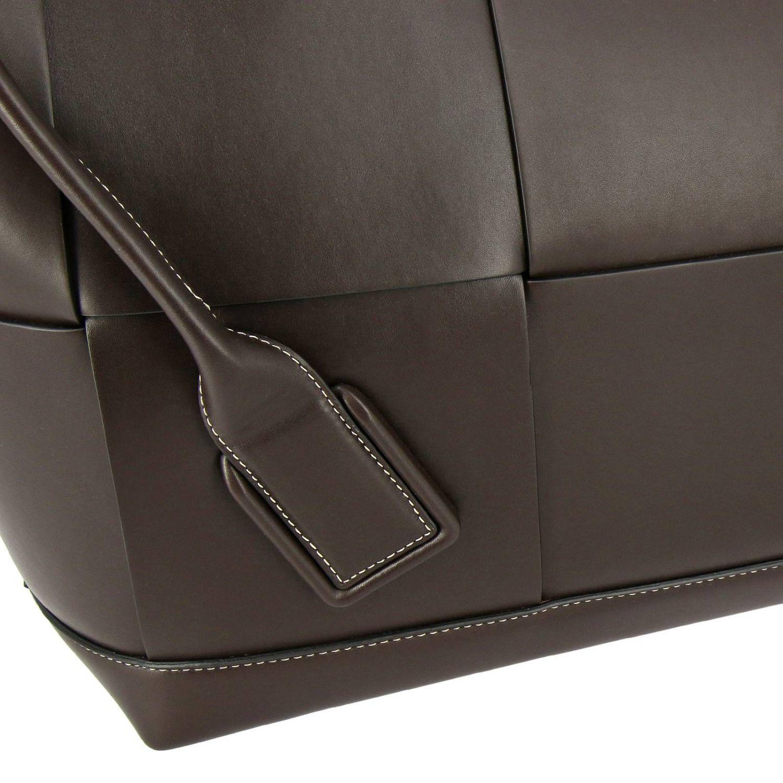 肩包 Bottega Veneta: Bottega Veneta手袋,大号编织图案真皮制成 暗色 4