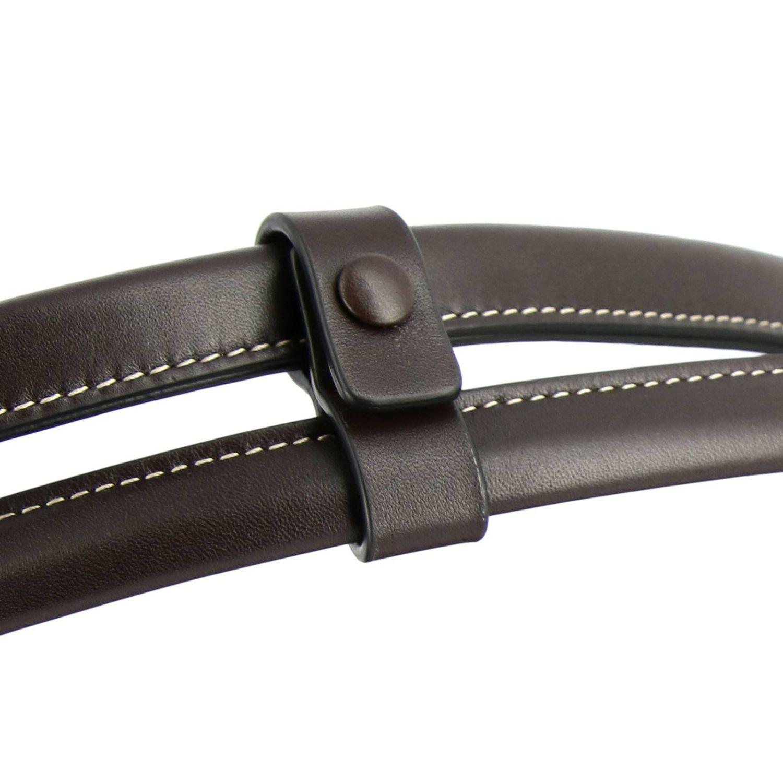 肩包 Bottega Veneta: Bottega Veneta手袋,大号编织图案真皮制成 暗色 5
