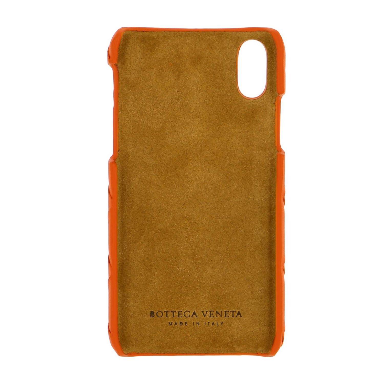 Bottega Veneta Iphone xs woven leather cover orange 2