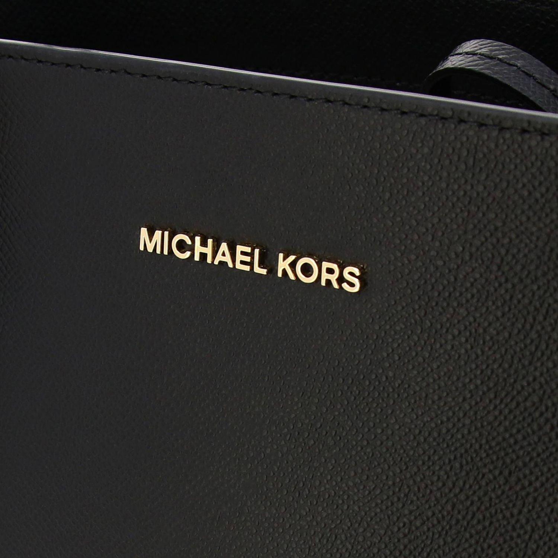 Michael Michael Kors Voyager east west tote 真皮手袋 黑色 4