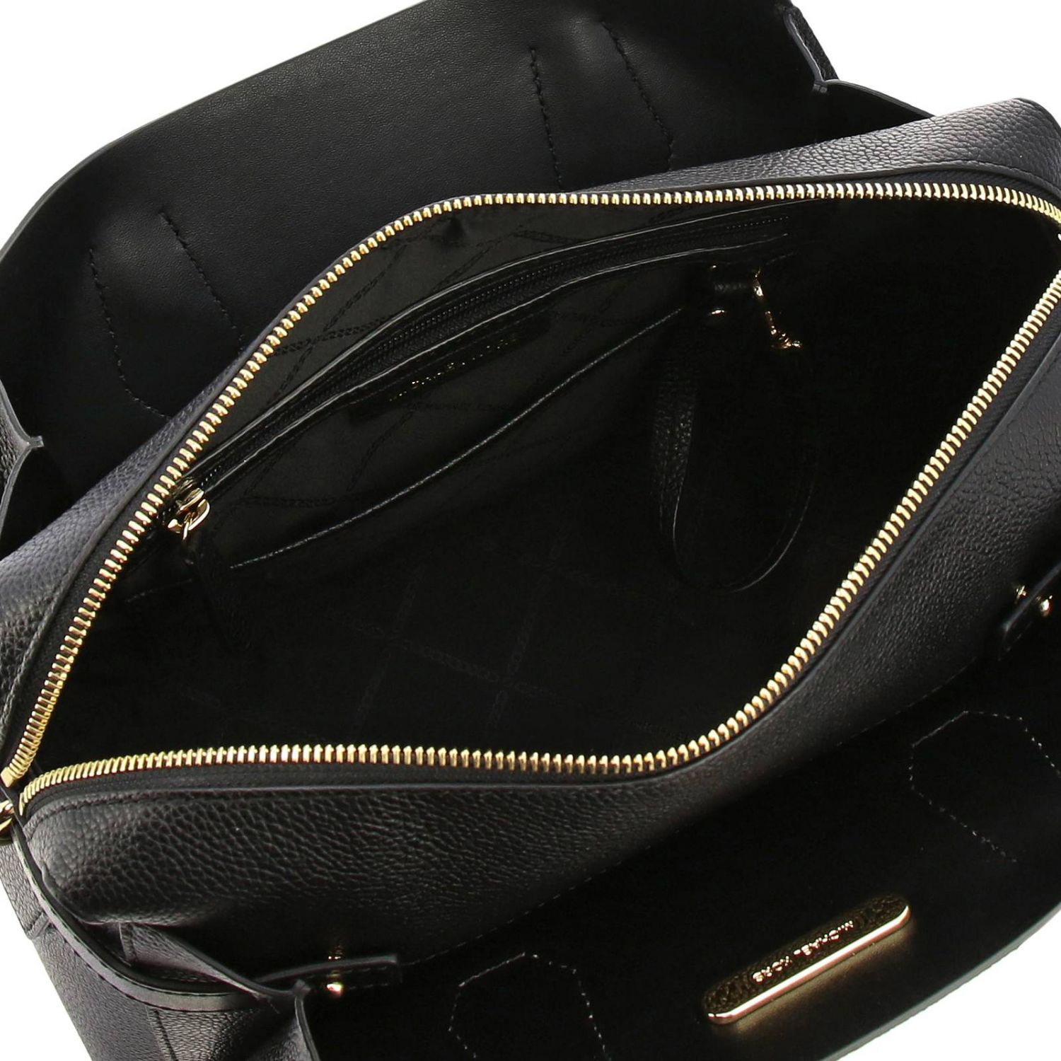 Mercer medium Michael Michael Kors bag in textured leather black 5