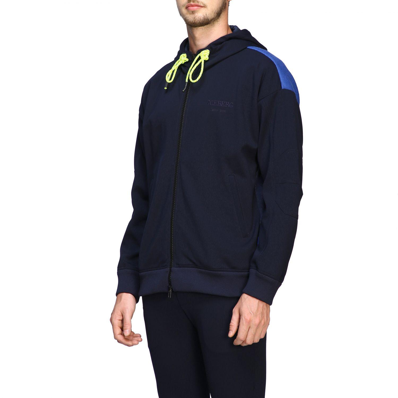 Sweater men Iceberg blue 4