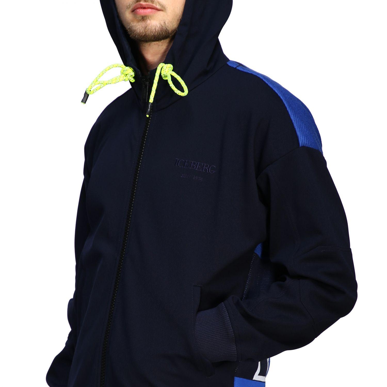 Sweater men Iceberg blue 5