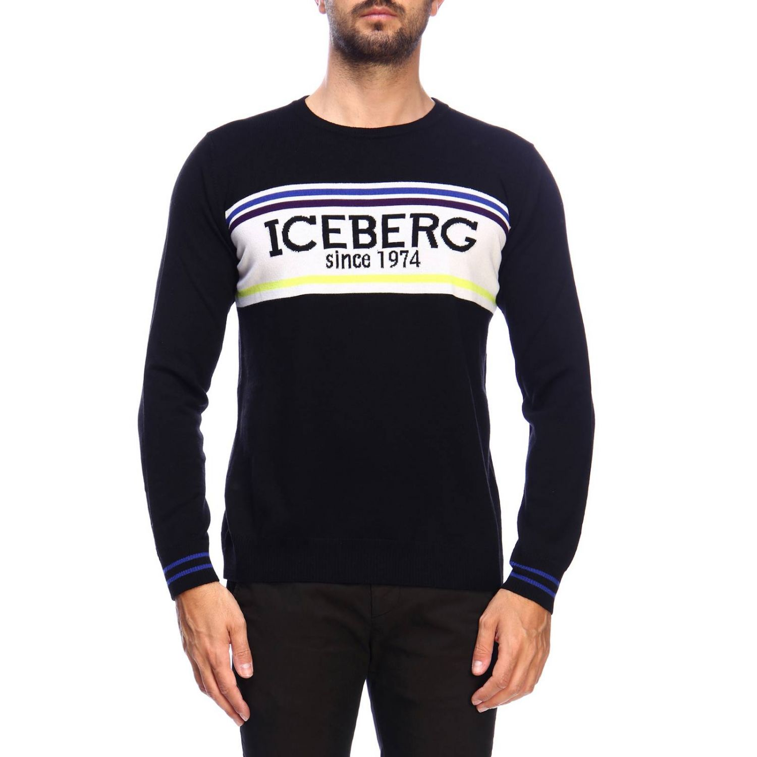 Sweater Iceberg: Sweater men Iceberg black 1