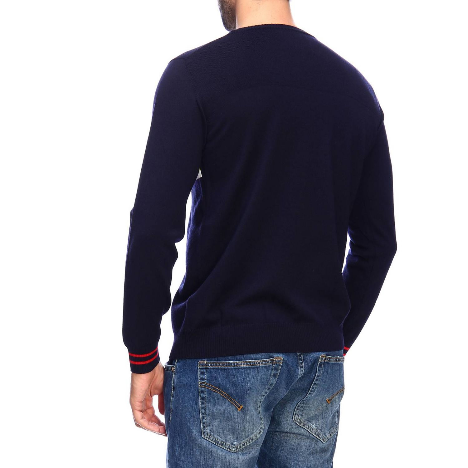 Jumper men Iceberg blue 3