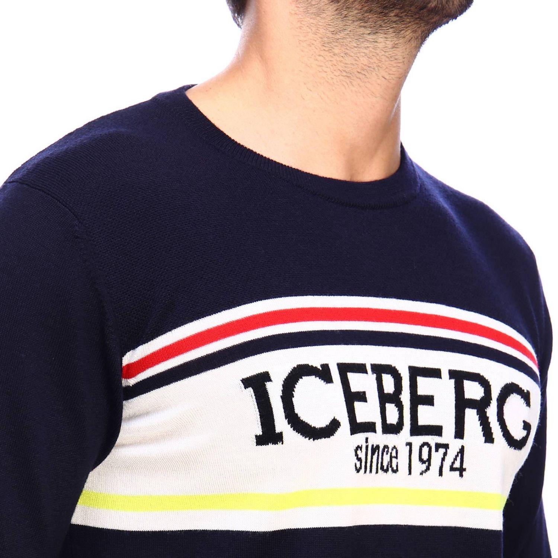 Свитер Мужское Iceberg синий 4
