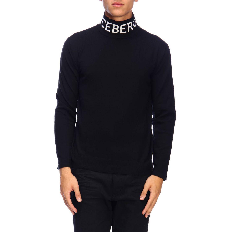 Sweater men Iceberg black 1