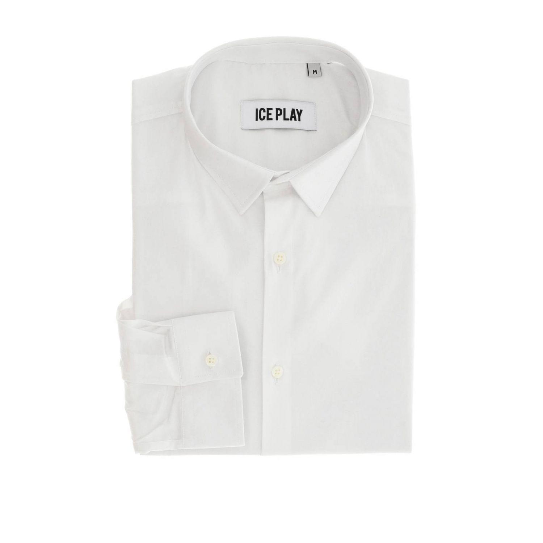 Рубашка Мужское Ice Play белый 1