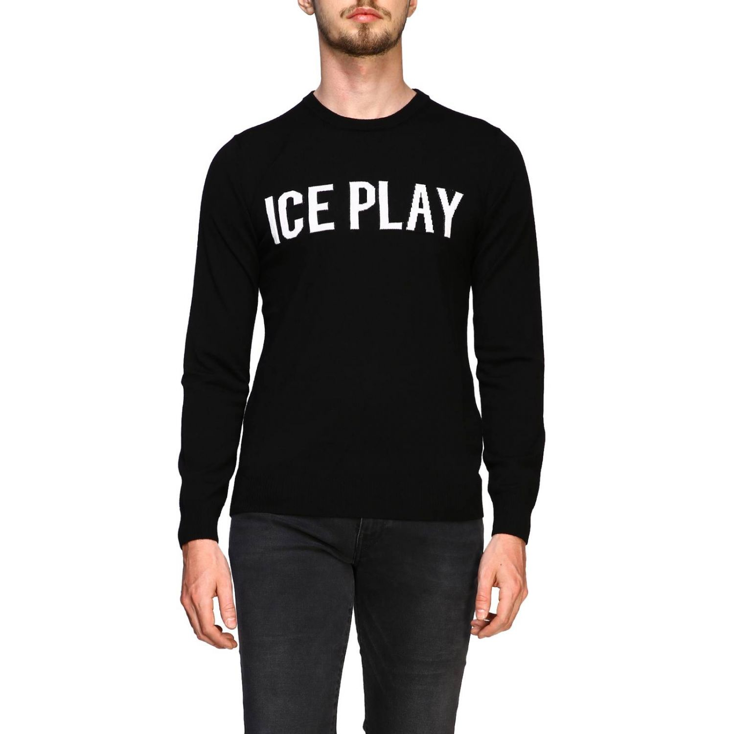 Jersey hombre Ice Play negro 1