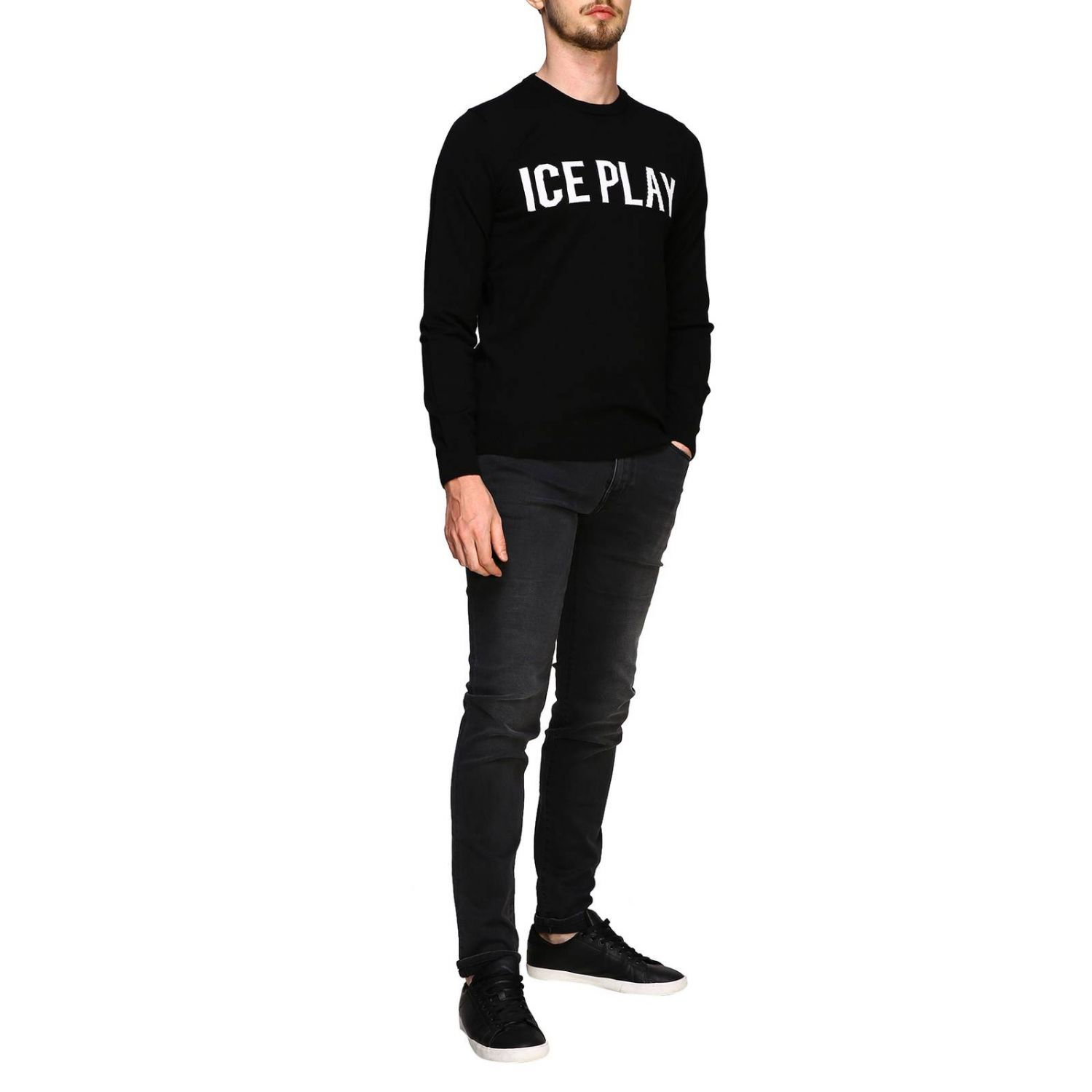 Jersey hombre Ice Play negro 2