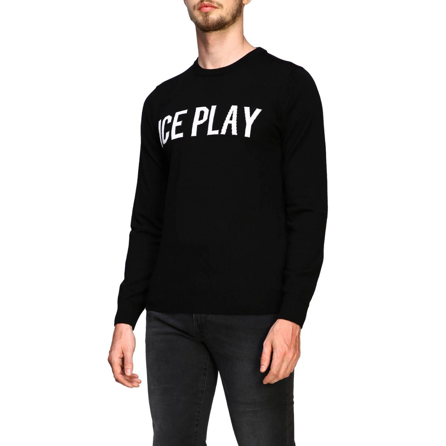 Jersey hombre Ice Play negro 4