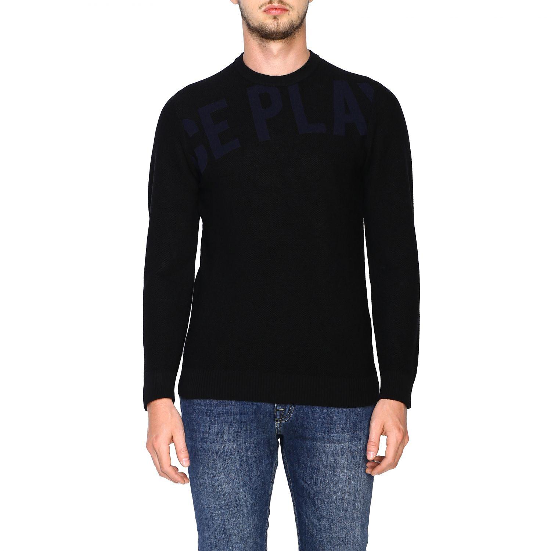 Pullover herren Ice Play schwarz 1