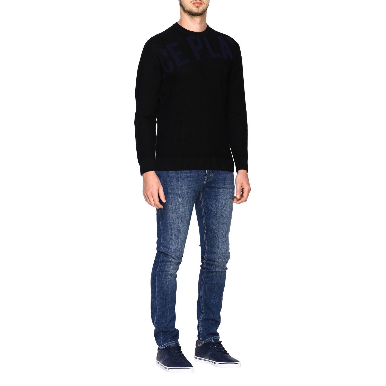 Pullover herren Ice Play schwarz 2