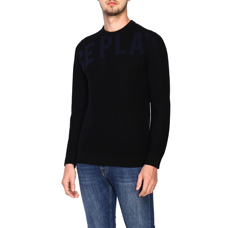 Pullover herren Ice Play schwarz 4