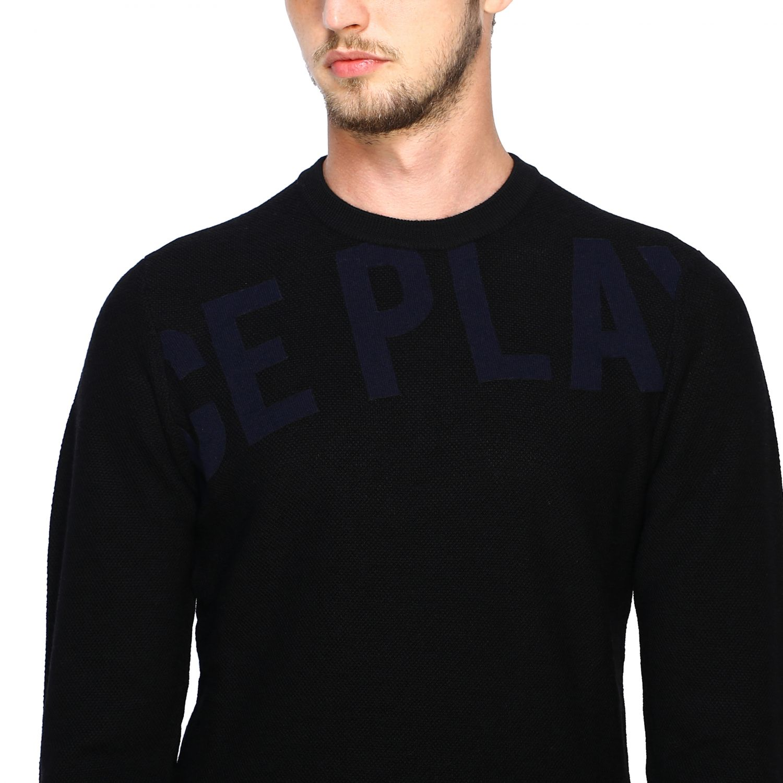 Jersey hombre Ice Play negro 5
