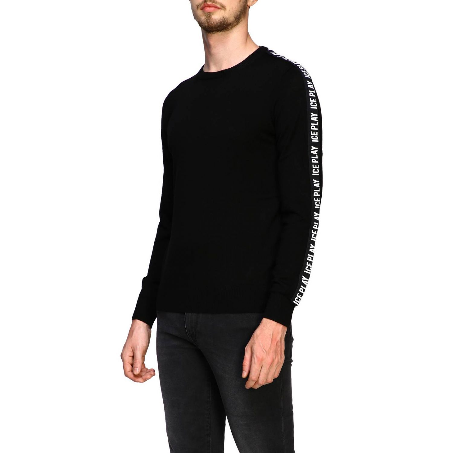 Pull homme Ice Play noir 4