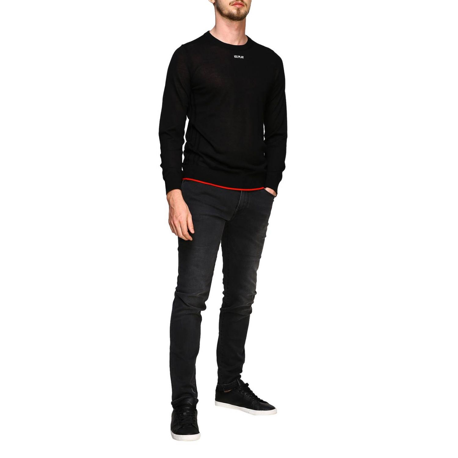 Sweater men Ice Play black 2