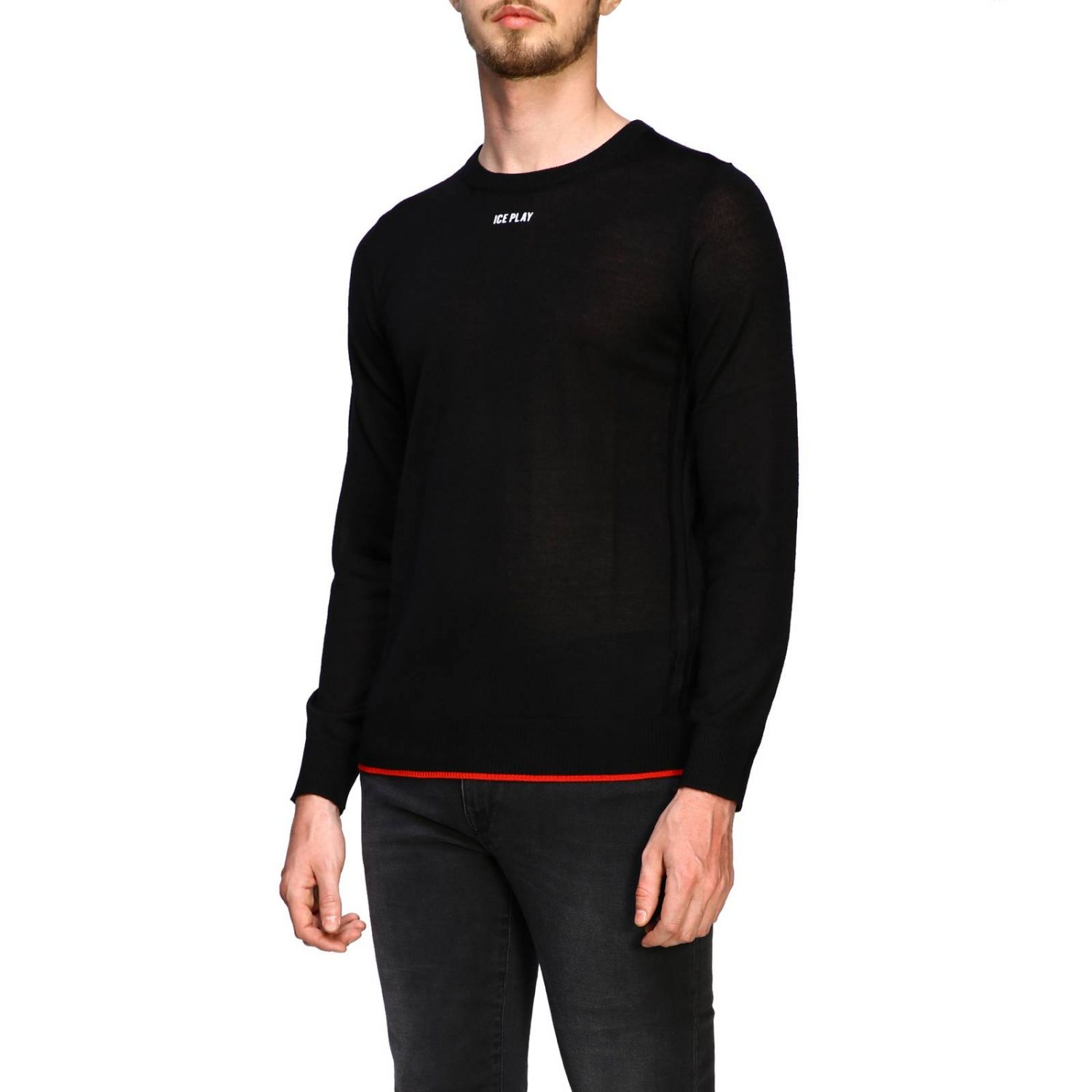 Sweater men Ice Play black 4