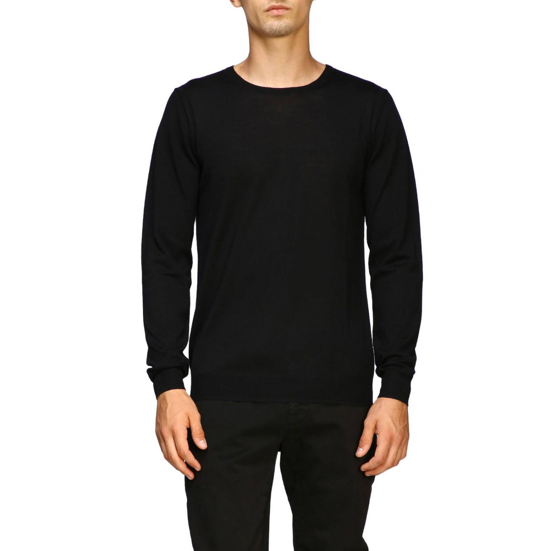 Sweater men Paolo Pecora black 1