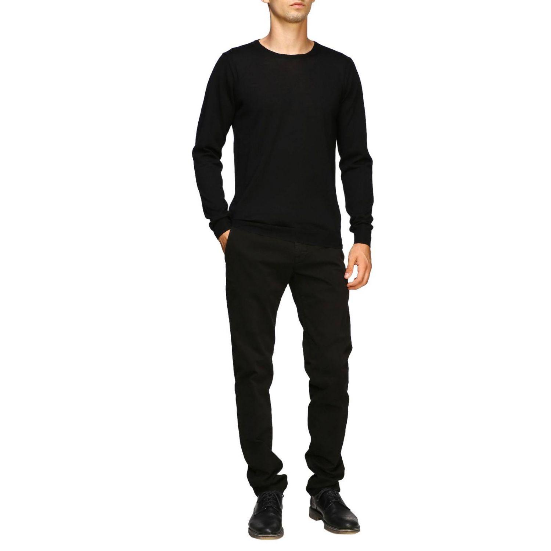 Sweater men Paolo Pecora black 2