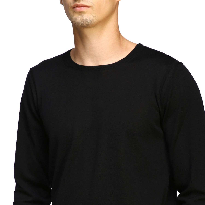 Sweater men Paolo Pecora black 5