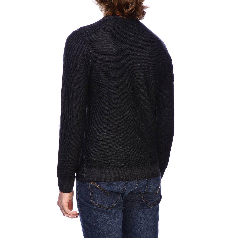 Sweater men Paolo Pecora black 3