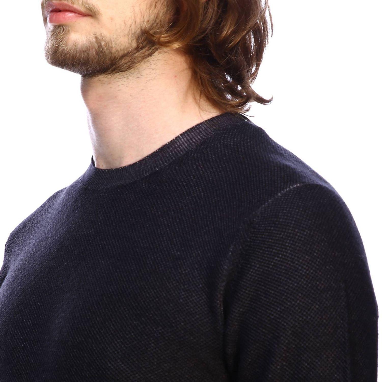 Sweater men Paolo Pecora black 4
