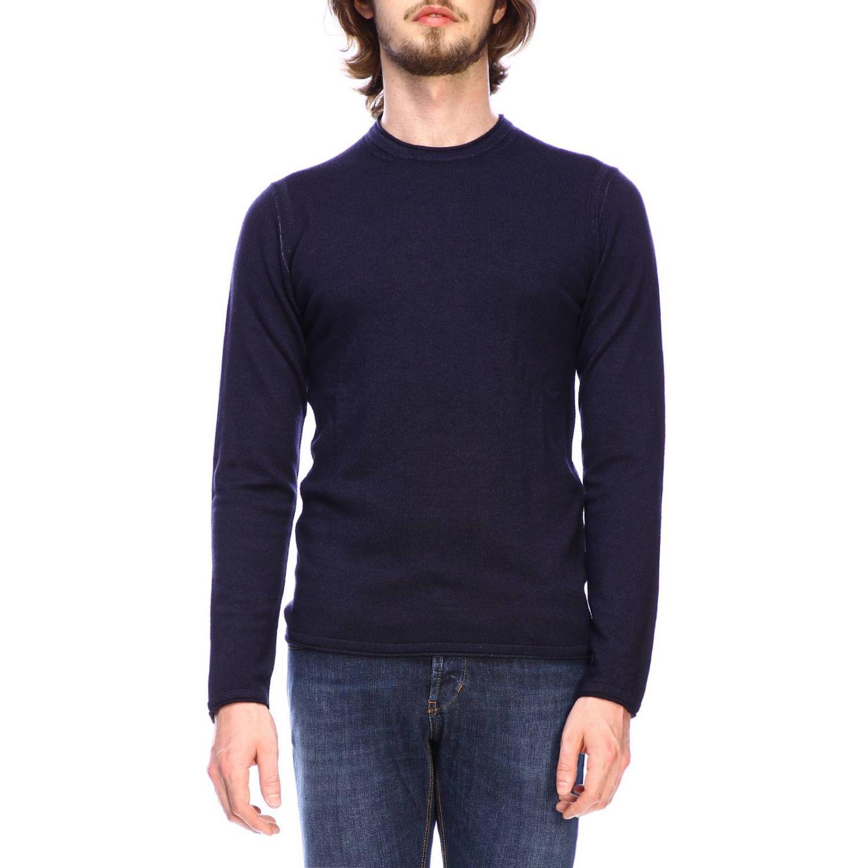 Jersey hombre Paolo Pecora azul oscuro 1