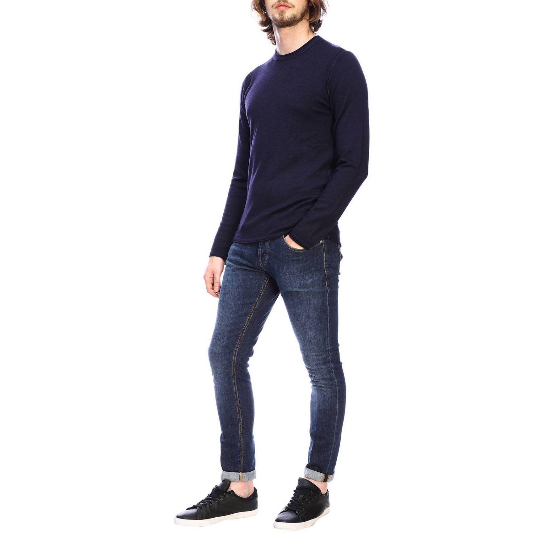Jersey hombre Paolo Pecora azul oscuro 2