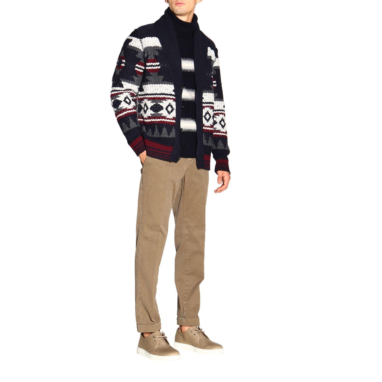针织开衫 Paolo Pecora: 毛衣 男士 Paolo Pecora 蓝色 2