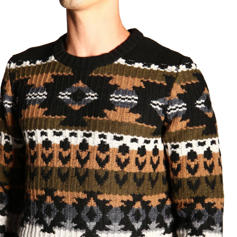 Sweater men Paolo Pecora blue 5