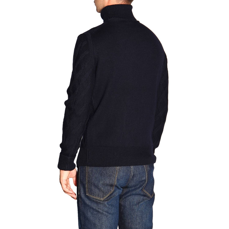 Pullover herren Paolo Pecora blau 3